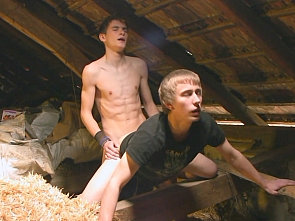Luis Blava - Village Boys Have sex in the Hayloft