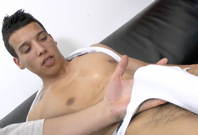Latino Handjob Adventure