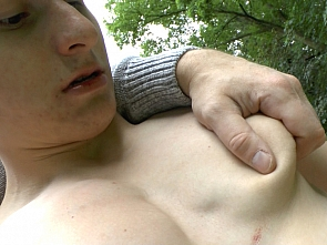 Outdoor Muscle Worship - Part1