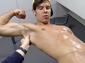 Part One - Muscle Worship - Massage