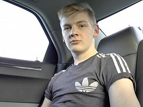 18 Boy -  Jerking in the Car