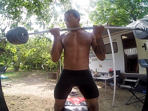 Summer Outtakes - Workout - Massage