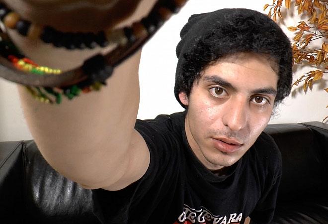 Webcam Solo Action - Big Cumshot