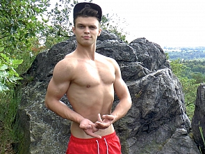 Muscle Flexing and Workout
