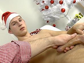 Christmas Handjob Part One
