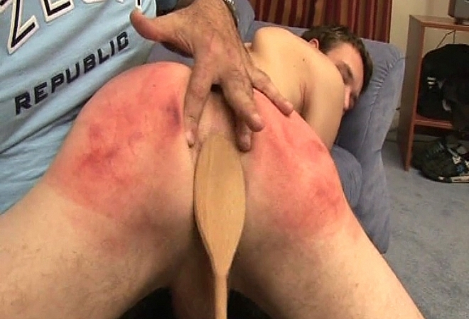Young Boy Getting Spanked