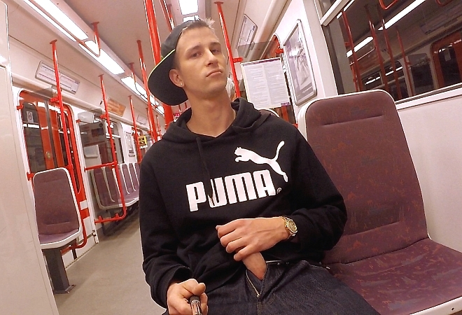 Part One - In the subway and handjob